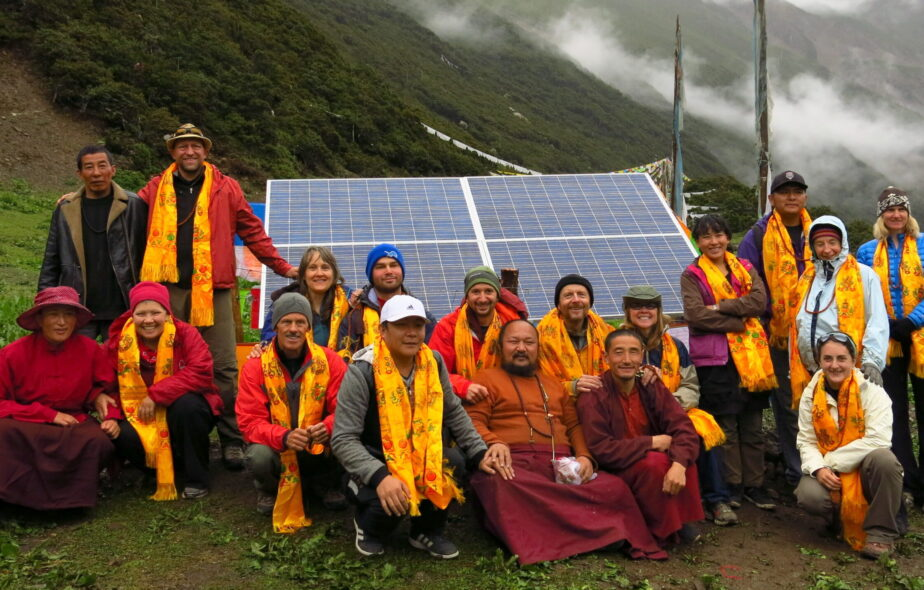 Organized by Chris, volunteers installed solar electric systems in a medical clinic, school, and two ancient Tibetan Buddhist monasteries. Learn More